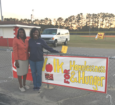 Hoke County Schools 2017 Walk for Homelessness and Hunger