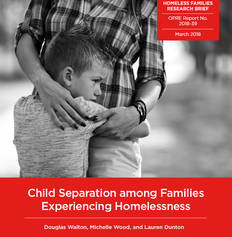 Child Separation among Families Experiencing Homelessness