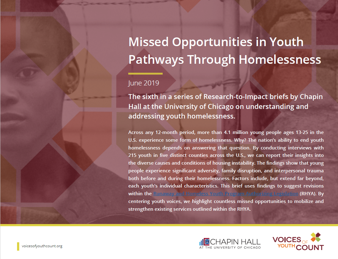 Missed Opportunities in Youth Pathways Through Homelessness