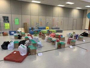 Christmas gifts for students experiencing homelessness